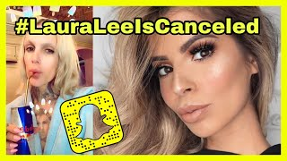 Jeffree Star Ends Laura Lee's Career In One Snapchat | Laura Lee Buying Subscribers!??