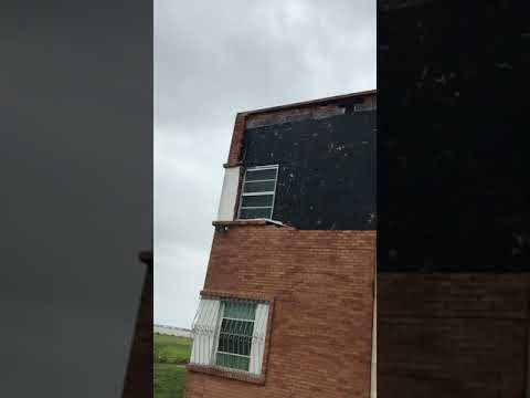 Schoenstatt damaged by hurricane
