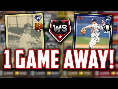 1 GAME AWAY FROM THE WORLD SERIES! MLB The Show 17 | Diamond Dynasty | Ranked Seasons