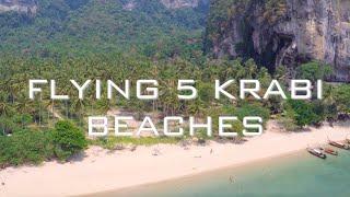 5 Krabi Beaches (by drone)
