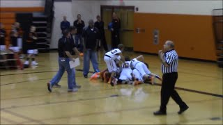 Central York Jr. A Boys Basketball vs. Red Lion 1/4/15