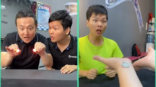 Try Not To laugh My Brother's Reaction|| Funny Tricks