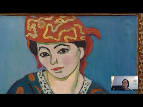 Barnes Takeout: Art Talk On Henri Matisse's Red Madras Headdress