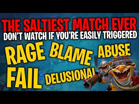 The Saltiest Match Ever - DotA 2 Techies