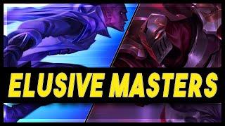 Zed Elusive in High Masters!   LoR Game   Legends Of Runeterra Gameplay