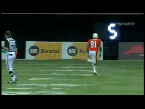 Jarious Jackson touchdown pass to Geroy Simon vs. Toronto
