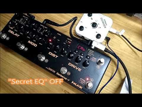 NUX Cerberus Secret EQ Option !!