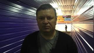 """Послематчевое интервью главного тренера ХК """"Ertis"""""""
