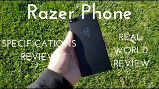 Razer Phone Specs Video (Real World Review)