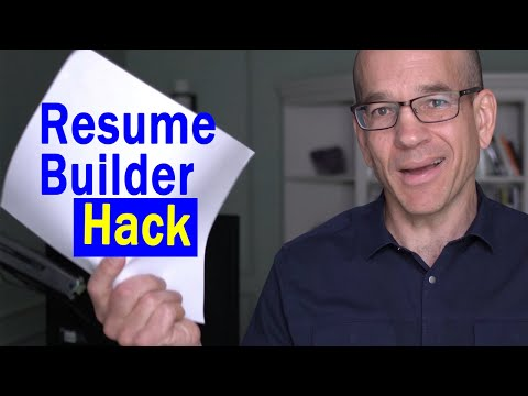 Simple Resume Builder Hack - How To Get Called For A Job Interview