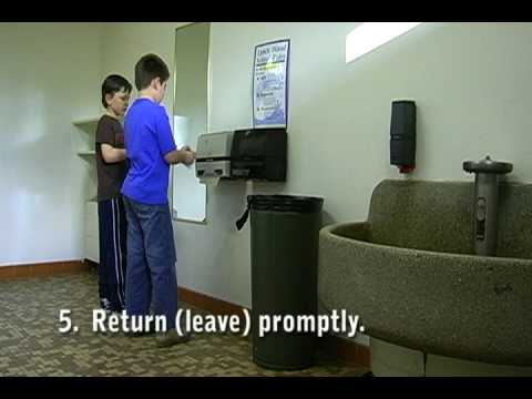 Restroom Procedures - Lynch Wood School (PBS) - YouTube