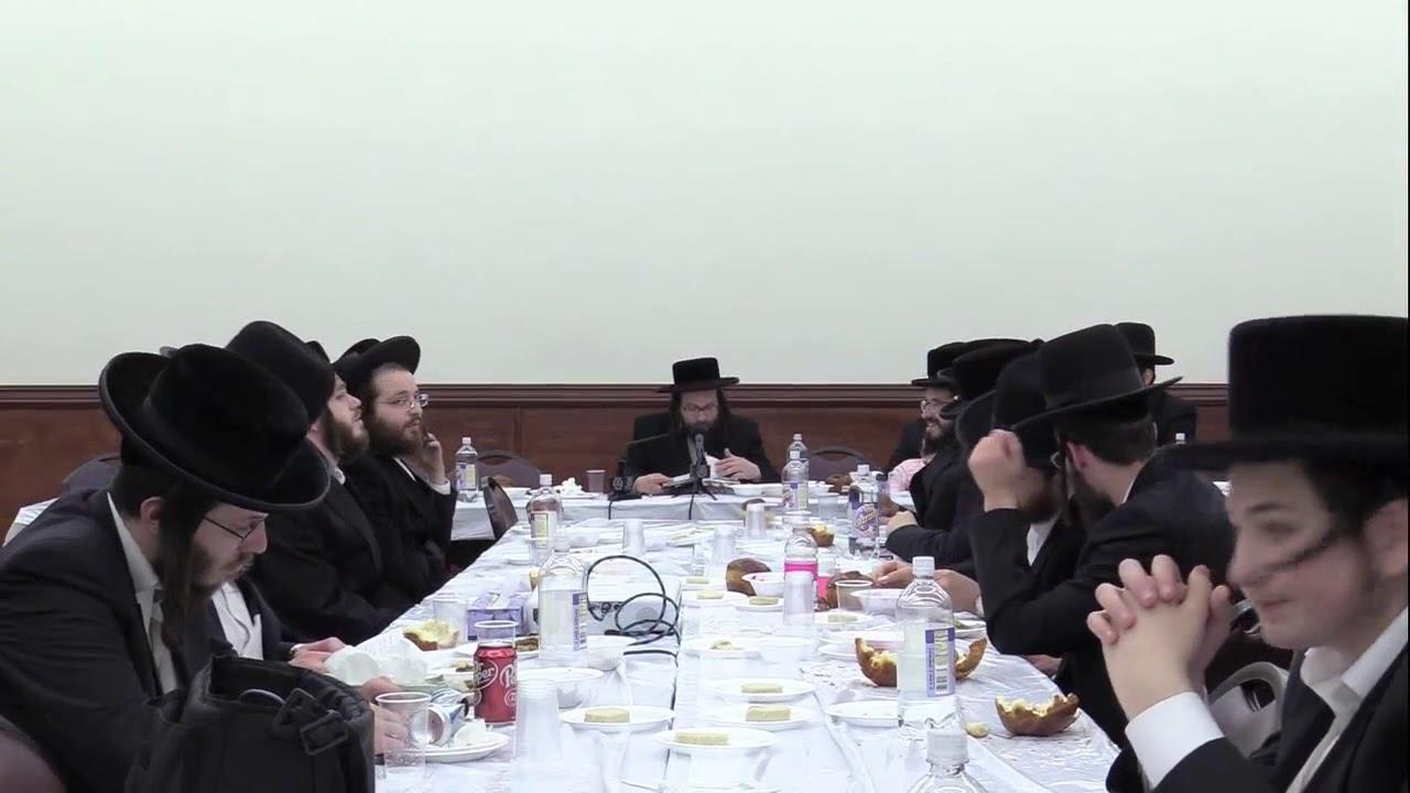 ר' יואל ראטה - סעודת ל''ג בעומר - ד' בהר תשע''ט - R' Yoel Roth
