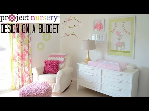 Design on a Budget in Baby's Nursery
