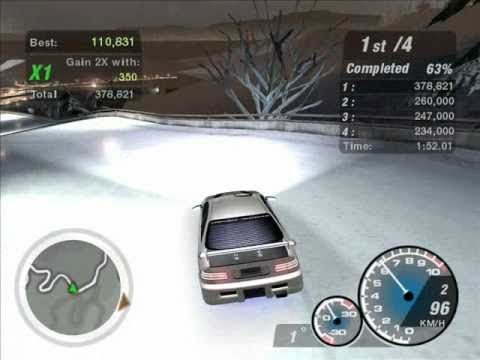 need for speed underground 2 honda civic test drift. Black Bedroom Furniture Sets. Home Design Ideas