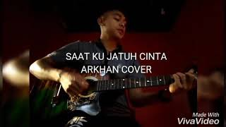 Saat ku sedang jatuh cinta sik sounds projek (cover by ara arkhan)