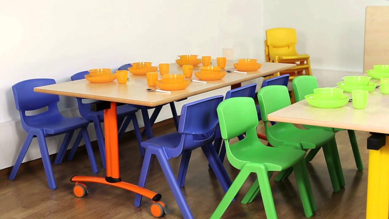 Top table pliante mobilier scolaire eduhermex with fabriquer table murale pliante - Fabriquer table murale pliante ...
