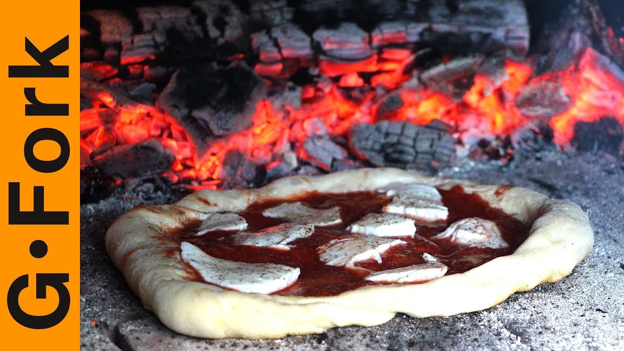 almost free brick pizza oven wood fired pizza in your backyard