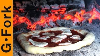 Almost Free Brick Pizza Oven | Wood Fired Pizza In Your Backyard - GardenFork.TV