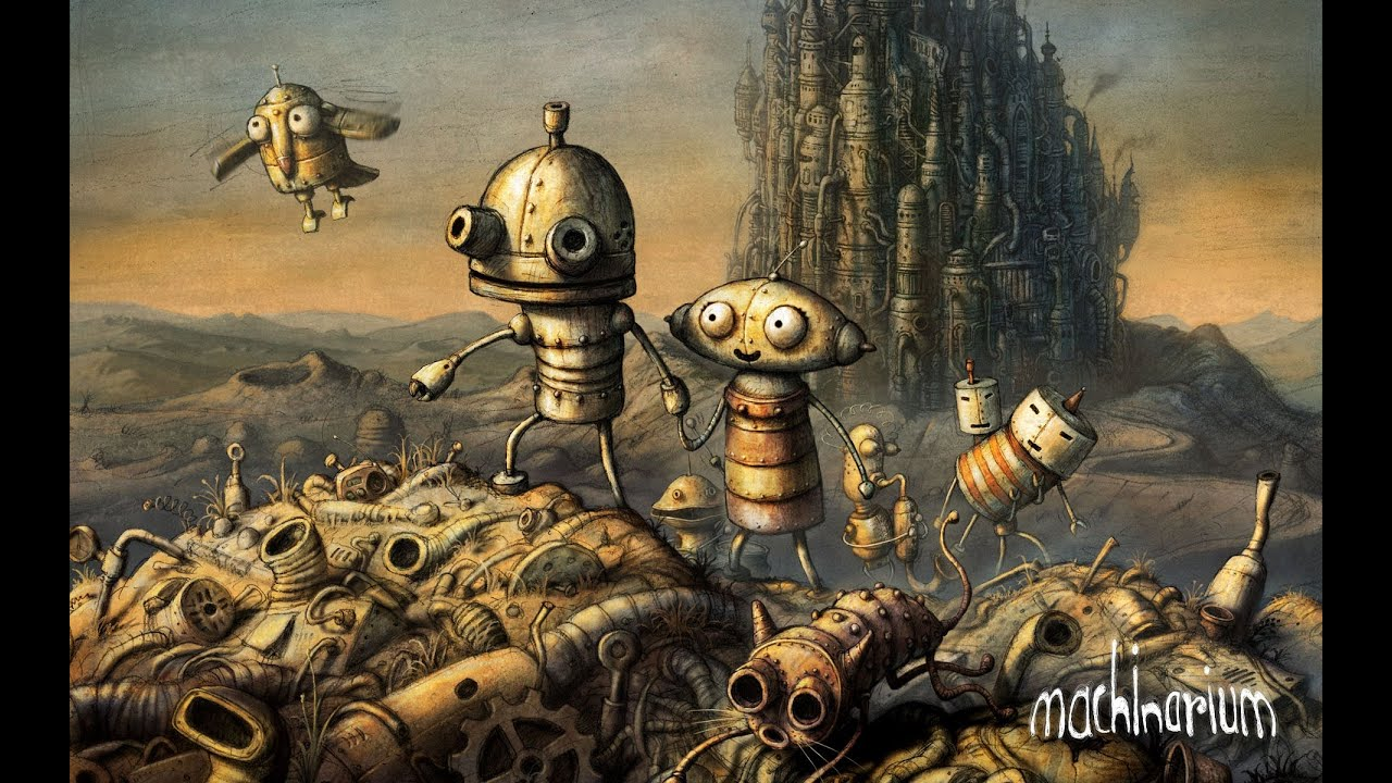 Vignette du document Machinarium : application numérique