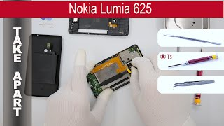 How to disassemble Nokia Lumia 625 RM-941, Take Apart, Tutorial(How to disassemble Nokia Lumia 625 RM-941 by himself. Disassembly (take apart) and repair smartphone Nokia Lumia 625 RM-941 at home with a minimal ..., 2015-06-20T03:06:03.000Z)