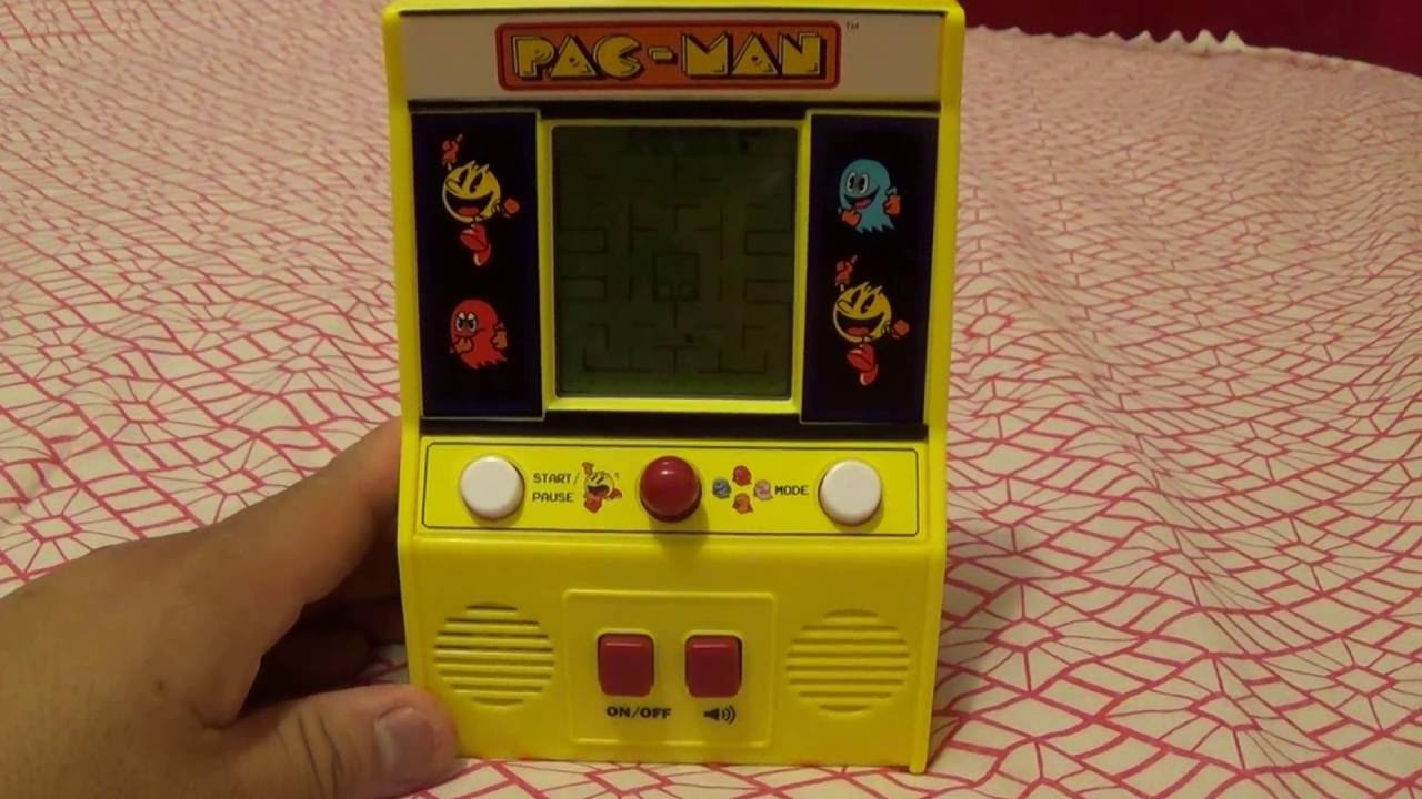 f7b236bfd30bc Mini LCD PACMAN Arcade Cabinet with AUTHENTIC SOUND!! by Basic Fun ...