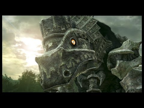 YOU DON'T WANT TO BE CAUGHT BY THESE STOMPS | Shadow Of The Colossus PS4 Remake - Gameplay Part 4