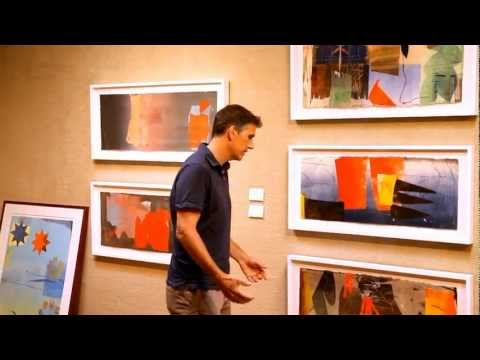 """David Collins Artist Talk About """"Clearstory"""" At Valley House Gallery"""