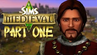 """The Sims Medieval """"I AM KING!!"""" Part 1"""