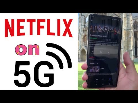 Downloading Netflix Shows On 5G!