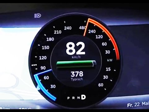 WOW!!! 2017 Tesla Model 3 P90D Ludicrous Mode 060 Top Speed Acceleration Run