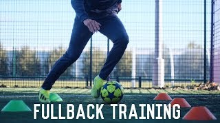 Individual Fullback Training | 3 Drills To Become a Better Left or Right Back