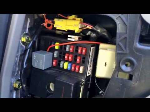 [SCHEMATICS_4UK]  Chevy Impala 2000-2005 Fuse Box Location - YouTube | Chevrolet Impala Fuse Box |  | YouTube