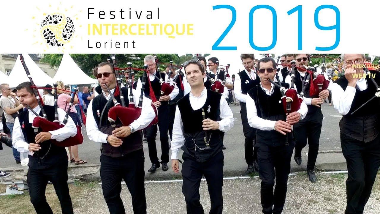 Défilé du Bagad de Lorient - Festival Interceltique de Lorient 2019