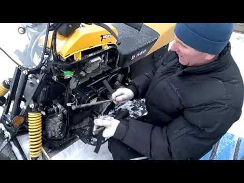 Обзор снегохода Dingo Т 150. Доводим до ума.Часть 4.
