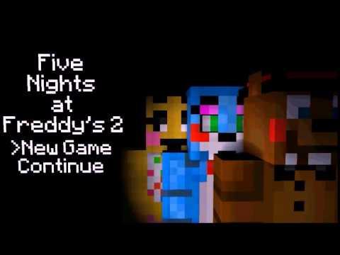 FNaF 2 Title Screen In Minecraft