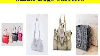 Carriers for Small Dogs || Bloomingtails Dog Boutique