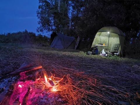 Сазан на Оби. Закрытие летнего сезона. Рыбалка с ночевкой.
