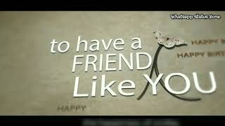 #FRIEND #BIRTHDAY #WISHES WITH SONG