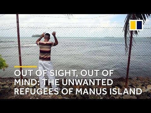 The unwanted refugees on Manus island, Australia
