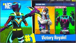 "*NEW* ""NITELITE"" & ""LITESHOW"" SKINS in Fortnite Battle Royale! (Fortnite Update V4.0.0)"