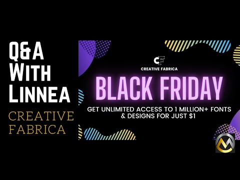 Creative Fabrica's Black Friday Sale!! (Starts Now!)