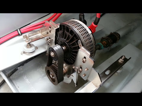 """Electric Boat - UK Lynch 13kW Motor - NOT your typical """"marine transmission."""""""