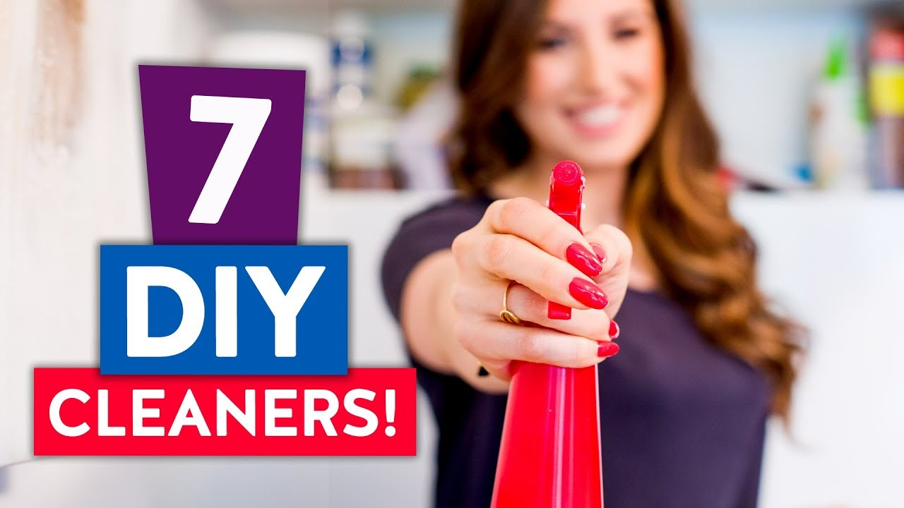 7 DIY CLEANERS    My Favorite Natural Cleaning Products!