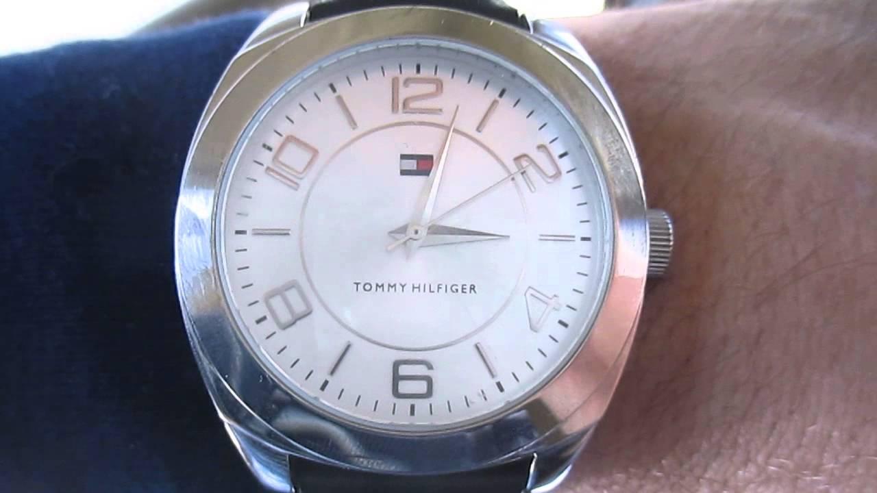 5dcf01531baa Reloj Tommy Hilfiger Original Hombre Malla Cuero Impecable Mercadolibre  Argentina