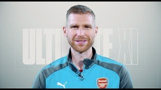 Who makes it into Per Mertesacker's Ultimate XI?