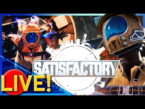 🔴[Satisfactory] RELEASED TODAY - Public Early Access & Game Key Giveaway! 🎮
