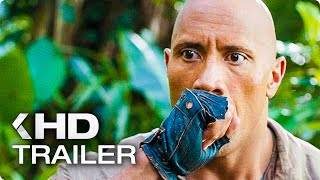 Jumanji 2: Welcome To The Jungle ALL Trailer & Clips (2017)