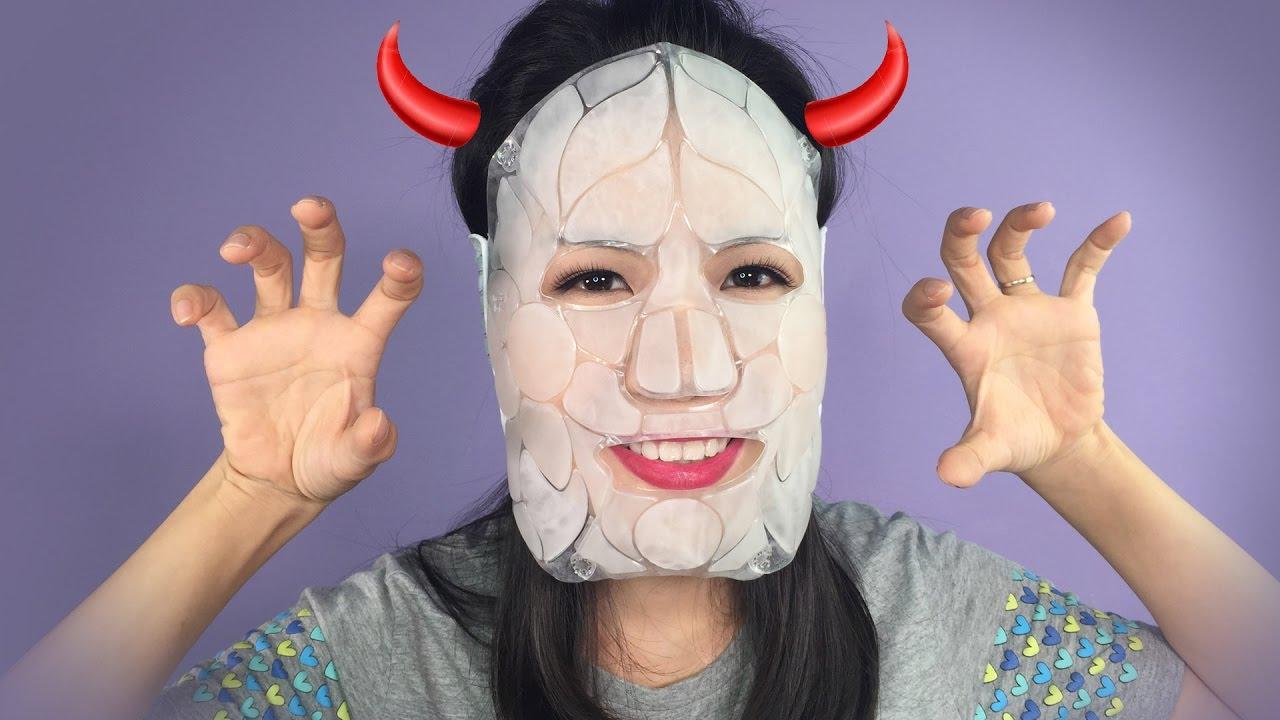 Hướng dẫn cách dùng mặt nạ đá Hàn Quốc DKCC Ice Cooling Mask đúng cách | Tiny Loly