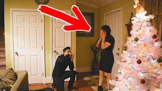 Жёстко! Этот Пранк она запомнит! Разыграл свою девушку на Новый Год!