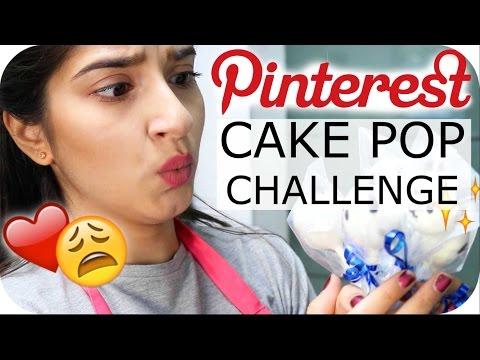 PINTEREST Cake Pop CHALLENGE - Panda Cake Pops | Sanny Kaur